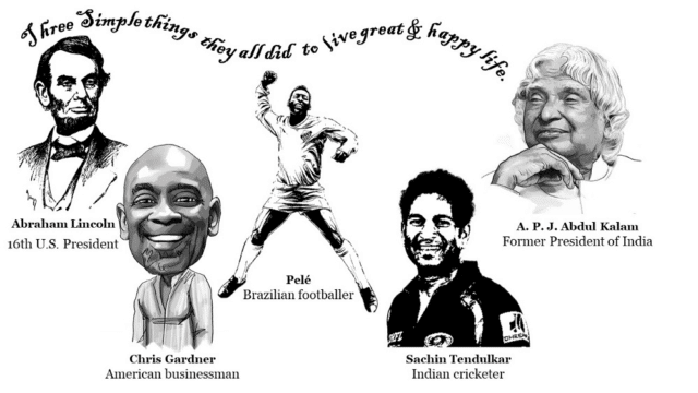 3 keys to success that opened doors for Pele, Lincoln & many great people