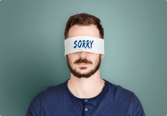 Apologize to stop feeling guilty