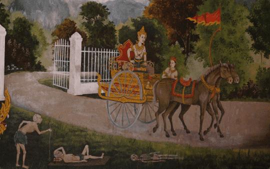 Gautam Buddha and feelings of guilt