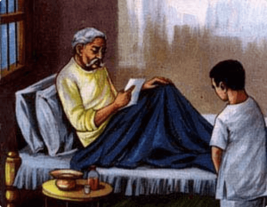 Mahatma Gandhi and their letter of sorry
