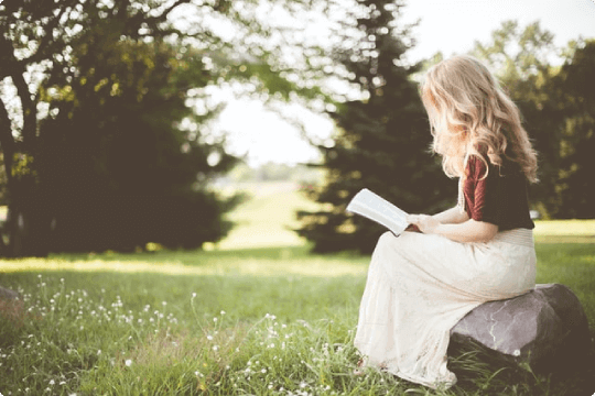 Walk, Read and Meditate to stop feeling guilty